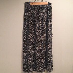 IKAT Maxi Skirt
